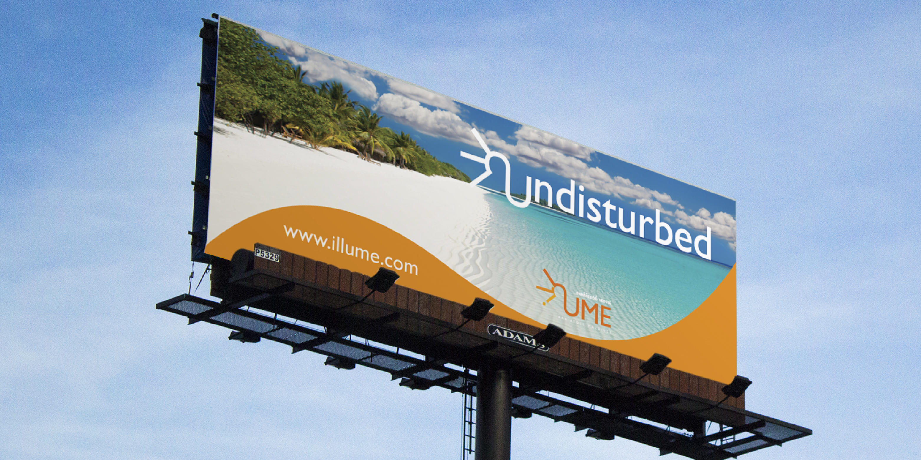Billboard design for illume advertising campaign